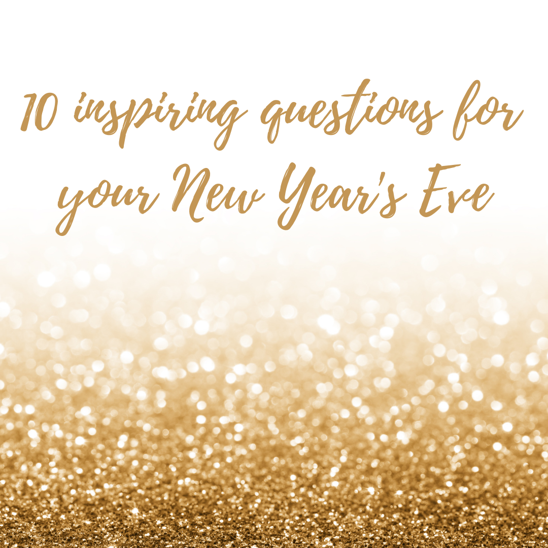 10 inspiring questions for New Year's Eve